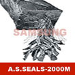 Graphite packing reinforced with Inconel wire & mesh wrapped